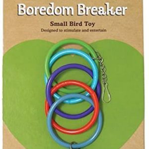 Olympic Rings With Bell – Pet Bird Toy